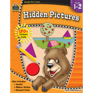 TCR5945 Ready-Set-Learn: Hidden Pictures Grade 1-2 Image