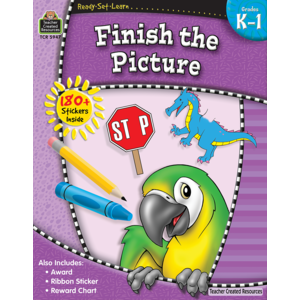 TCR5947 Ready-Set-Learn: Finish the Picture Grade K-1 Image