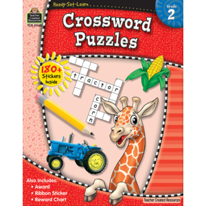 TCR5948 Ready-Set-Learn: Crossword Puzzles Image