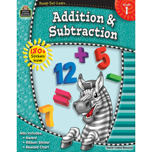TCR5950 Ready-Set-Learn: Addition & Subtraction Grade 1 Image