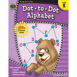 TCR5956 Ready-Set-Learn: Dot-to-Dot Alphabet Grade K Image