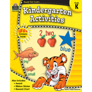TCR5959 Ready-Set-Learn: Kindergarten Activities Image