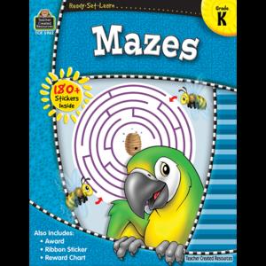 TCR5962 Ready-Set-Learn: Mazes Grade K Image