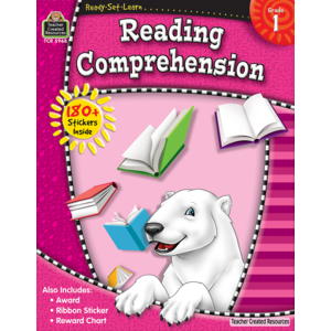 TCR5968 Ready-Set-Learn: Reading Comprehension, Grade 1 Image