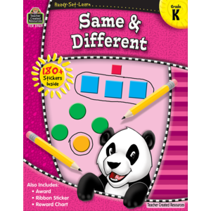 TCR5969 Ready-Set-Learn: Same & Different Grade K Image