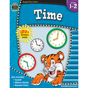 TCR5972 Ready-Set-Learn: Time Grade 1-2 Image
