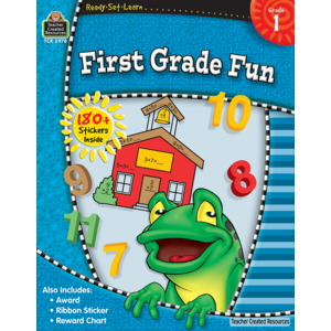 TCR5978 Ready-Set-Learn: First Grade Fun Image