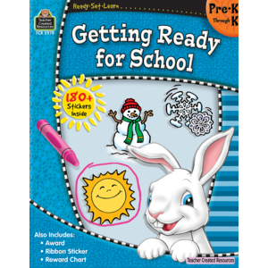 TCR5979 Ready-Set-Learn: Getting Ready for School PreK-K Image