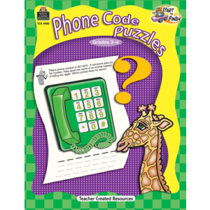 TCR5980 Start to Finish: Phone Code Puzzles Image