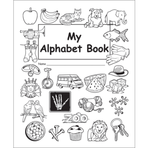 TCR60018 My Own Alphabet Book Image