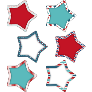 TCR60359 Patriotic Stars Accents Image