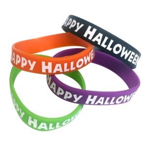 TCR6109 Happy Halloween Wristbands Jar Image