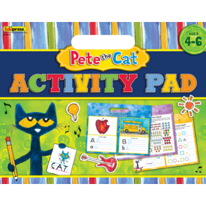 TCR62018 Pete the Cat Activity Pad Image