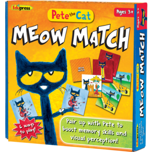 TCR62075 Pete the Cat Meow Match Game Image