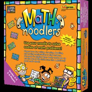 TCR62351 Math Noodlers Game Grades 4-5 Image