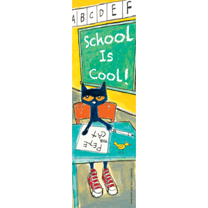 TCR62689 Pete the Cat School is Cool Bookmarks Image