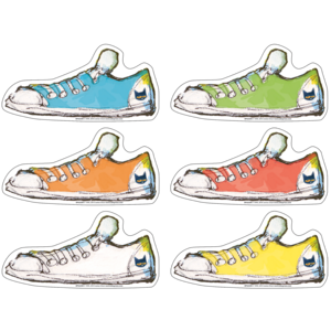 TCR63233 Pete the Cat Groovy Shoes Accents Image