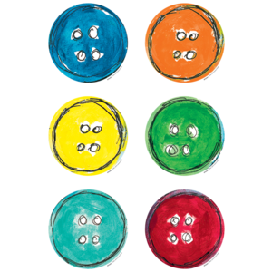 TCR63236 Pete the Cat Groovy Buttons Accents Image