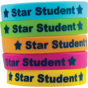 TCR6548 Star Student Wristbands Image