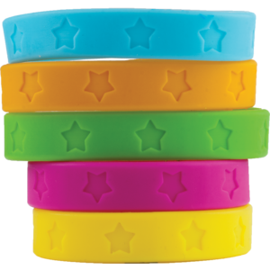 TCR6551 Stars Wristbands Image