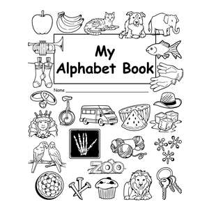 TCR66801 My Own Alphabet Book 10-Pack Image