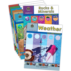 TCR6847 Super Science Activities Set (8 books) Image
