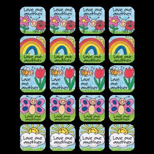 TCR7002 Children's Ten Commandments Stickers Image