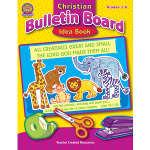 TCR7027 Christian Bulletin Board Idea Book Image