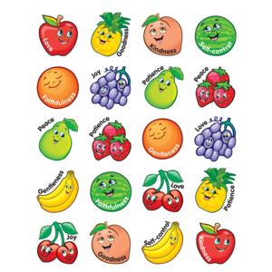 TCR7041 Fruit of the Spirit Stickers Image