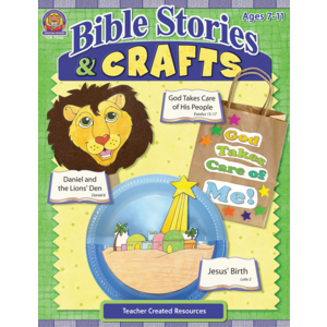 TCR7046 Bible Stories and Crafts Image