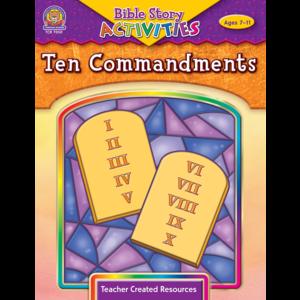 TCR7050 Bible Stories & Activities: Ten Commandments Image
