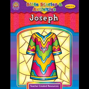 TCR7054 Bible Stories & Activities: Joseph Image