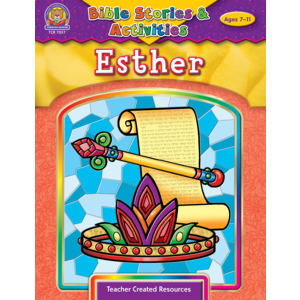 TCR7057 Bible Stories & Activities: Esther Image