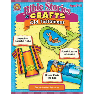 TCR7058 Bible Stories & Crafts: Old Testament Image
