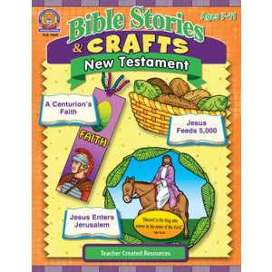 TCR7059 Bible Stories & Crafts: New Testament Image