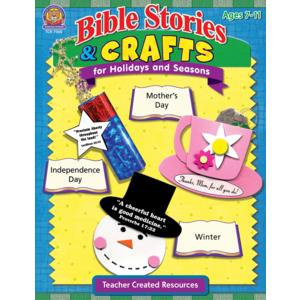 TCR7060 Bible Stories & Crafts for Holidays and Seasons Image
