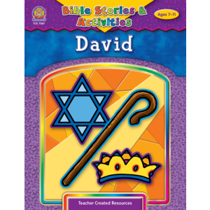 TCR7067 Bible Stories & Activities: David Image