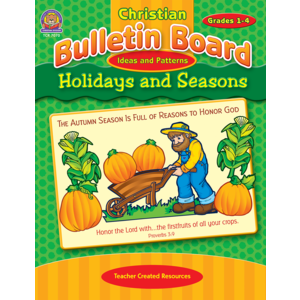 TCR7070 Christian Bulletin Board Ideas and Patterns: Holidays and Seasons Image