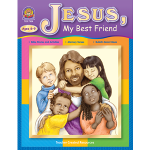 TCR7104 Jesus, My Best Friend Image