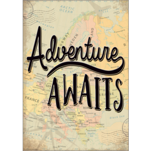TCR7432 Adventure Awaits Positive Poster Image
