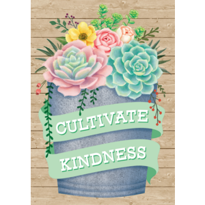TCR7441 Cultivate Kindness Positive Poster Image
