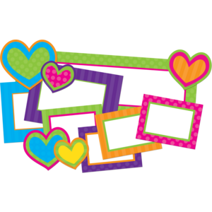 TCR74549 Sassy Dot Hearts Create & Decorate Image