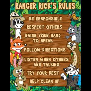 TCR7523 Ranger Rick's Rules Chart Image
