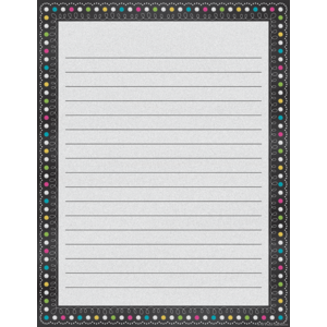TCR7532 Chalkboard Brights Lined Chart Image