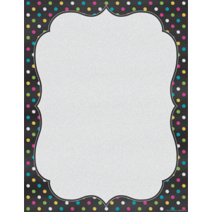 TCR7533 Chalkboard Brights Blank Chart Image