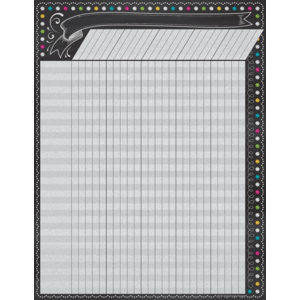 TCR7564 Chalkboard Brights Incentive Chart Image