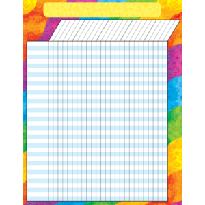 TCR7623 Rainbow Incentive Chart Image