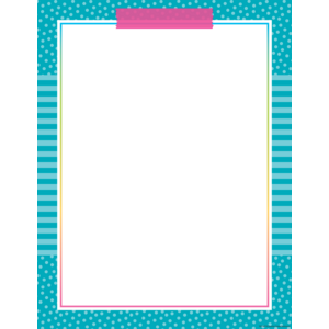 TCR7627 Colorful Vibes Blank Chart Image