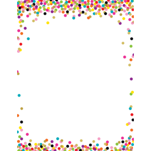 TCR7646 Confetti Blank Chart Image