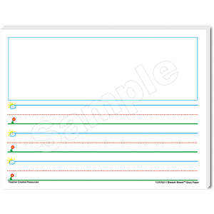 TCR76511 Smart Start K-1 Story Paper: 100 Sheets Image
